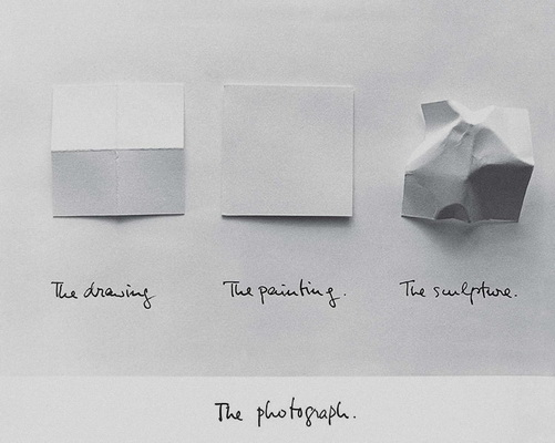 The Photograph, 1981 - Luis Camnitzer