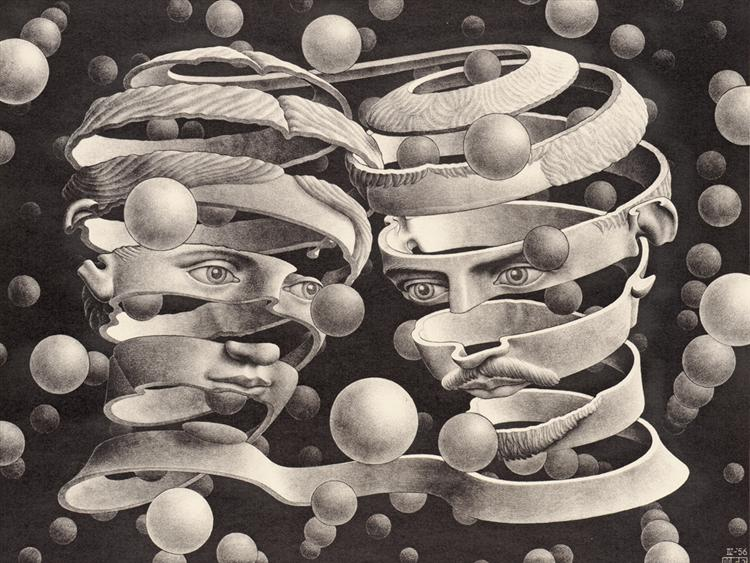 Bond of Union, 1956 - M.C. Escher