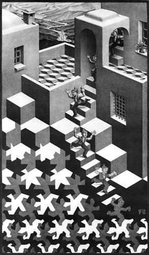 Cycle - M.C. Escher
