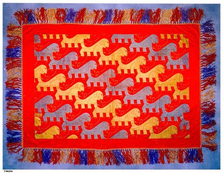 Dogs - M.C. Escher