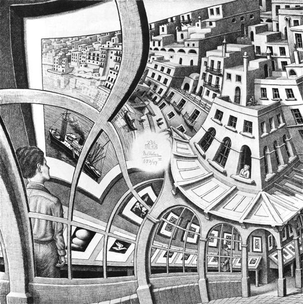 Print Gallery, 1956 - M.C. Escher