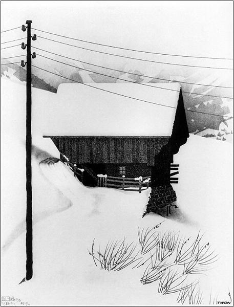 Snow - M.C. Escher