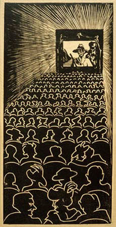 Wild West, 1920 - M.C. Escher