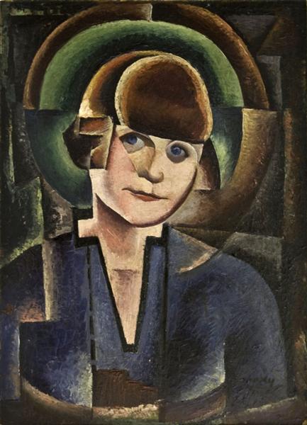 Madam Ghitas - portrait composition - М. Х. Максі