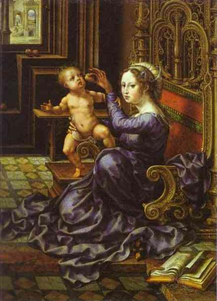 Madonna and Child - Mabuse