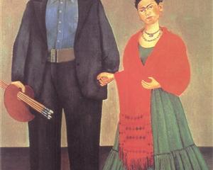 Frieda and Diego Rivera - Frida Kahlo
