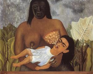 My Nurse and I - Frida Kahlo
