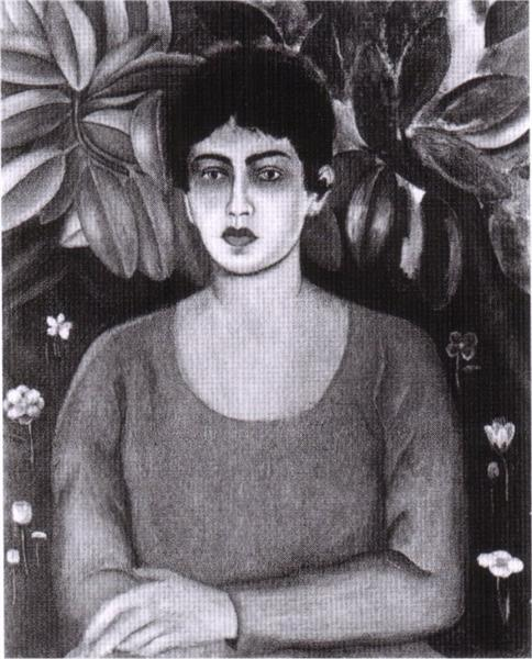 Portrait of Lupe Marín, 1929 - Frida Kahlo