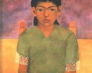Portrait of Virginia (Little Girl) - Frida Kahlo