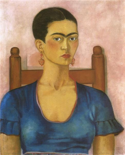 Self Portrait, 1930 - Frida Kahlo
