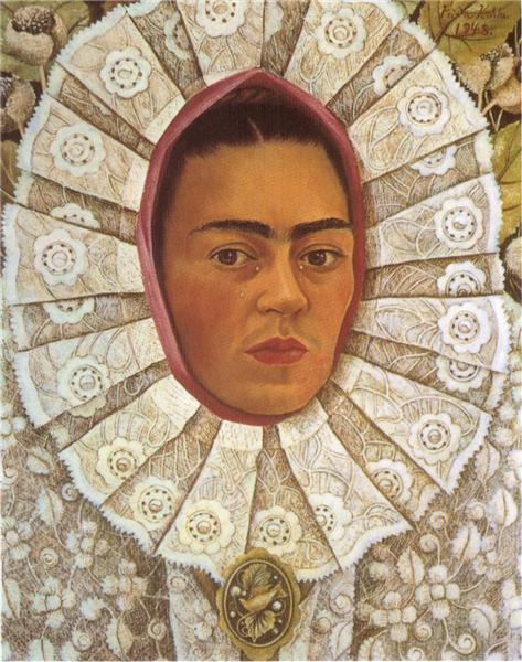 Self Portrait, 1948 - Frida Kahlo