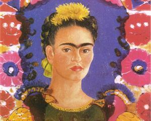 Self Portrait - The Frame - Frida Kahlo