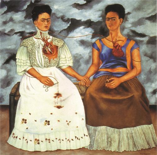 The Two Fridas - Frida Kahlo