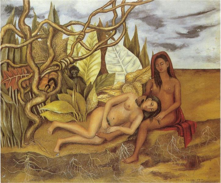 Two Nudes in the Forest (The Earth Itself), 1939 - Frida Kahlo