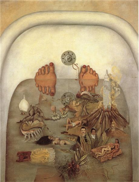 What the Water Gave Me, 1938 - Frida Kahlo
