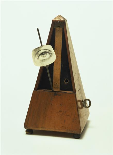 Indestructible Object (or Object to Be Destroyed), 1923 - Man Ray