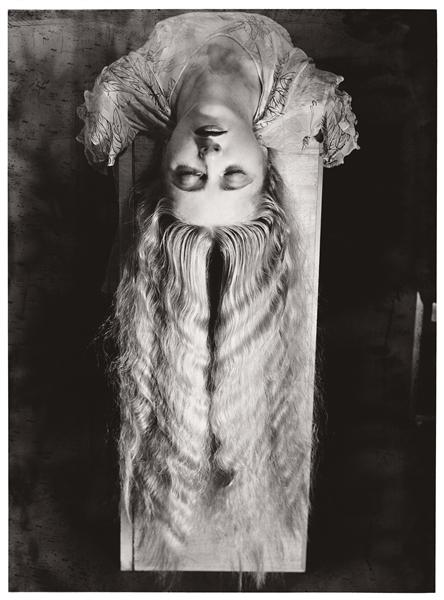 Woman with Long Hair, 1929 - Man Ray