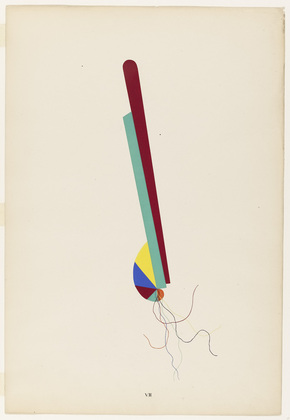 Young Girl (Jeune fille) from the portfolio Revolving Doors, 1926 - Man Ray