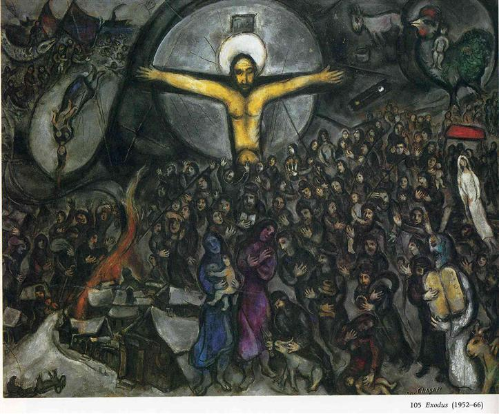 Exodus, 1952 - 1966 - Marc Chagall