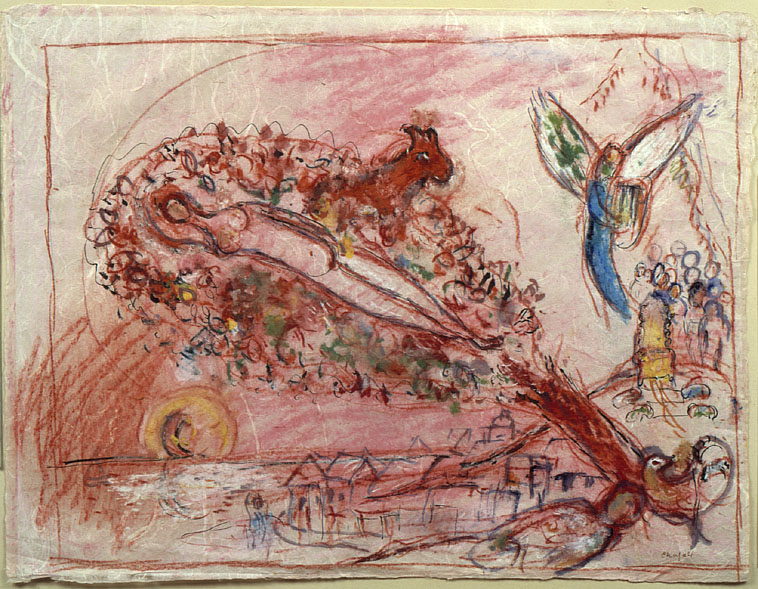 Chagall,  Study to