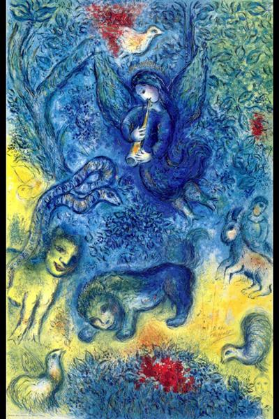 The Magic Flute 1967 Marc Chagall Wikiart