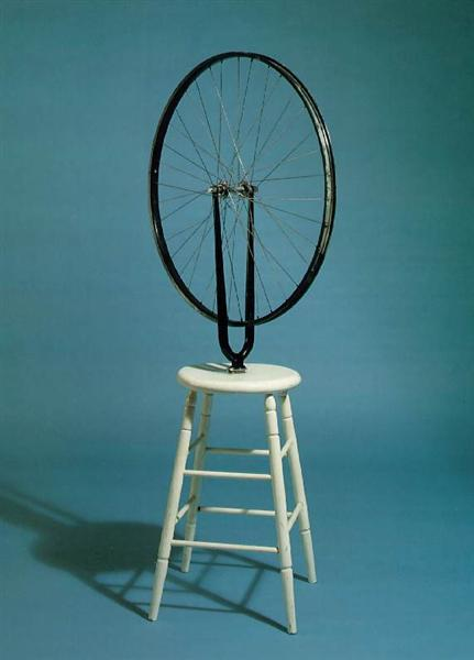 Bicycle Wheel, 1913 - Marcel Duchamp