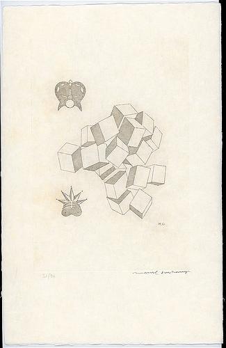 King and Queen, 1968 - Marcel Duchamp