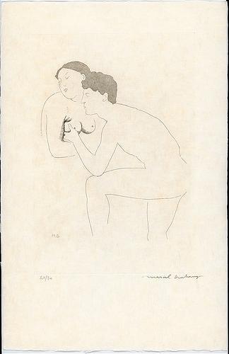 Selected Details after Ingres II, 1968 - Marcel Duchamp