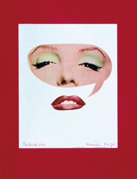 Maryline, Parler de soie, 1975 - Marcel Marien