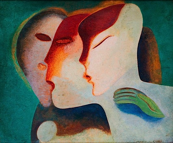 Heads and Hands, 1938 - Marcelle Cahn