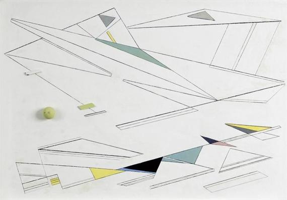 Peinture-relief, 1961 - Marcelle Cahn