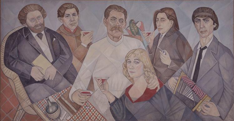 Dedicated to friends of Montparnasse - Marevna (Marie Vorobieff)