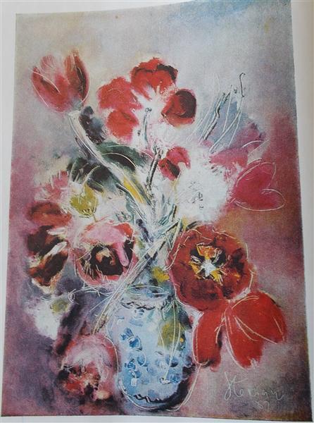 Anxious Flowers - Margareta Sterian