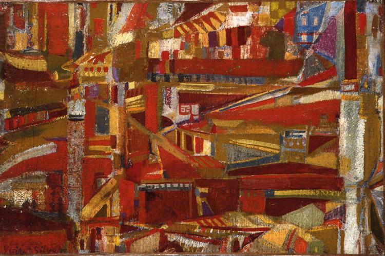 Untitled, 1949 - Maria Helena Vieira da Silva