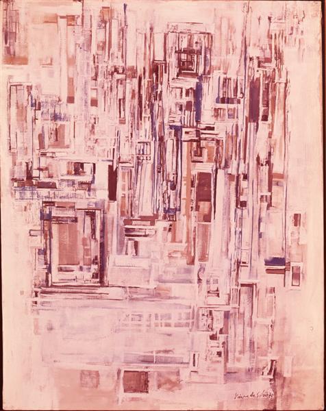 Untitled, 1970 - Maria Helena Vieira da Silva