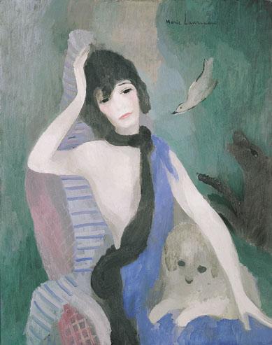 Portrait of Mademoiselle Chanel, 1923 - Marie Laurencin