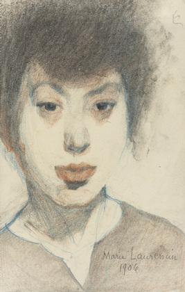 Self-Portrait, 1906 - Marie Laurencin