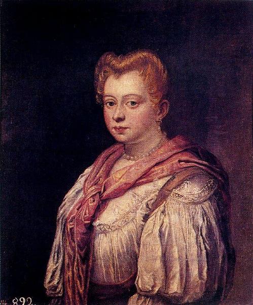 Venetian Woman (attributed) - Marietta Robusti