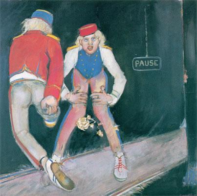 Derrière les coulisses, 1977 - Mario Comensoli