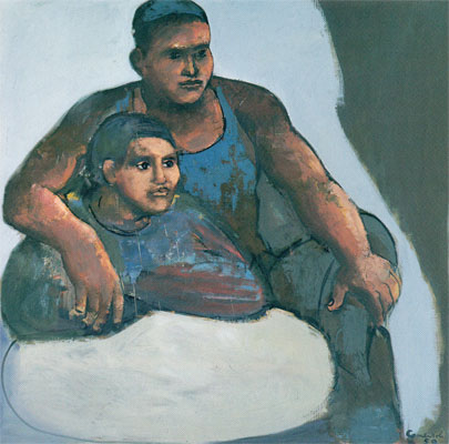 Paar, 1965 - Mario Comensoli