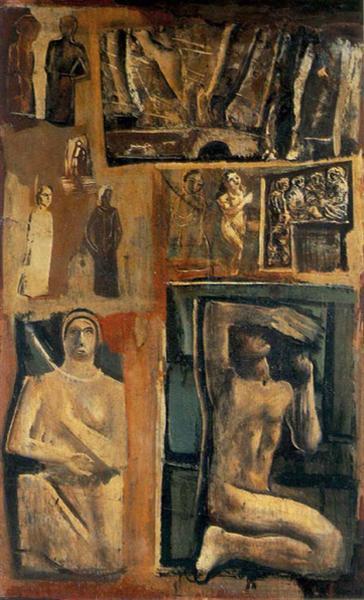 Composition - Mario Sironi