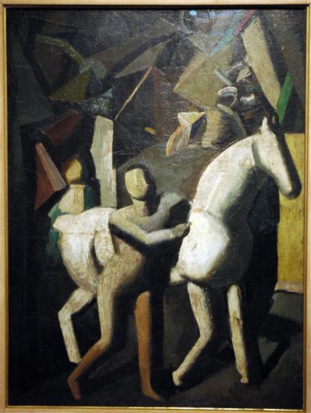 The White Horse, 1919 - Mario Sironi