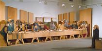 Self-Portrait Looking at The Last Supper - Марісоль Ескобар