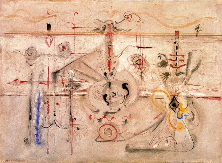 Archaic Idol, 1945 - Mark Rothko