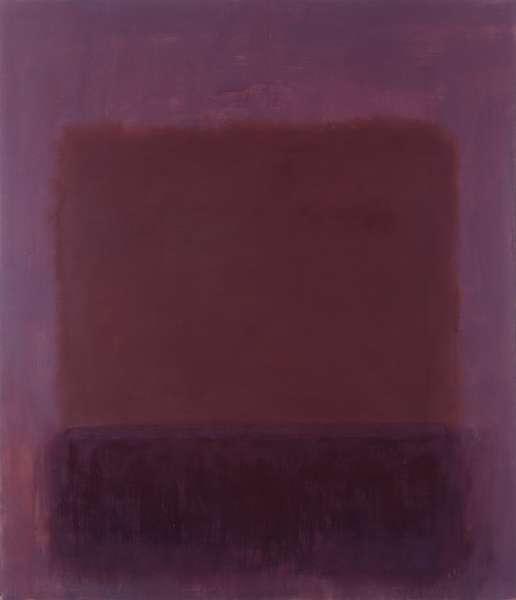 Purple Brown, 1957 - Mark Rothko