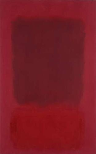 Red and Brown - Mark Rothko