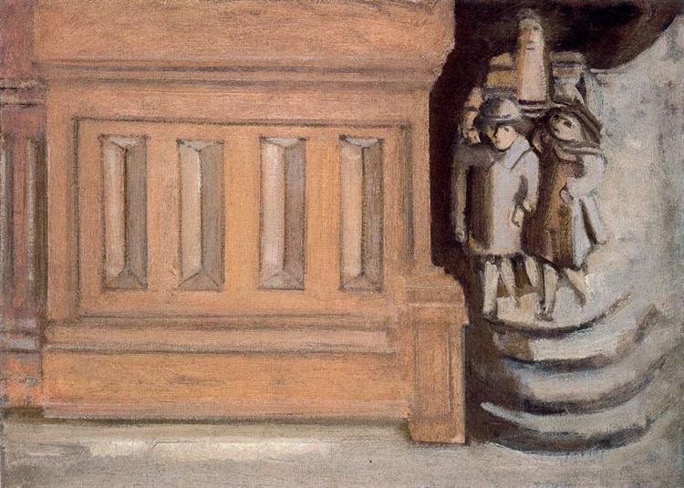 Street Scene, c.1937 - Mark Rothko