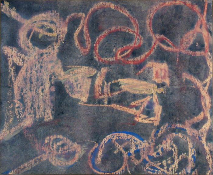Childs Fantasy, 1964 - Mark Tobey