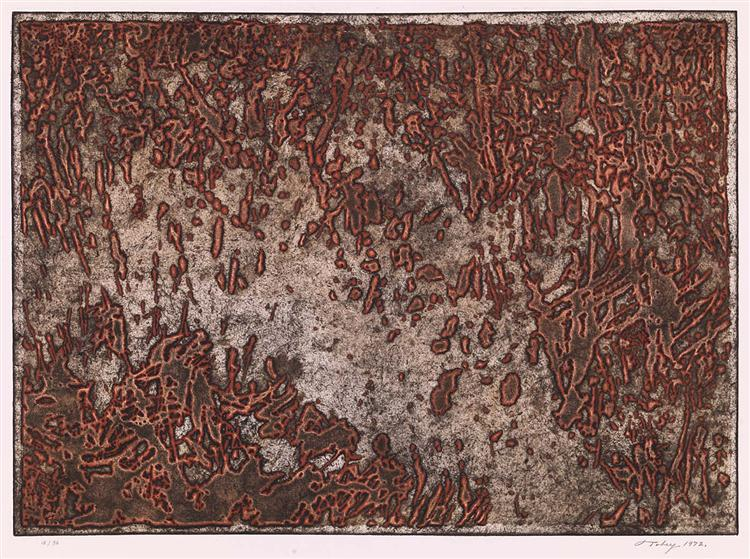 Message from a Desert Star, 1972 - Mark Tobey