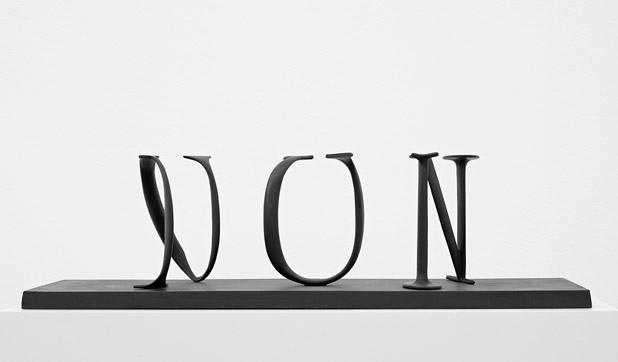 Oui/Non, 2001 - Markus Raetz